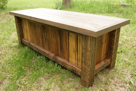 rustic reclaimed entry bench by echopeakdesign on etsy rustic reclaimed barnwood entry bench by echopeakdesign on