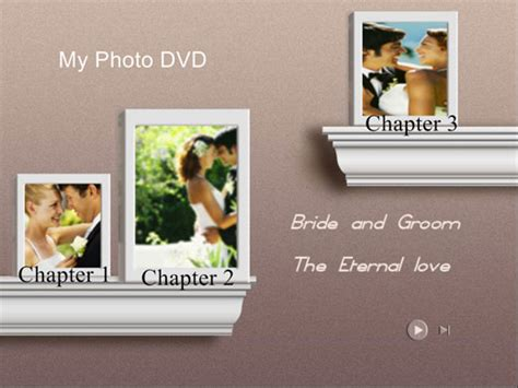 Dvd Menu Template free wedding themed dvd menu background templates