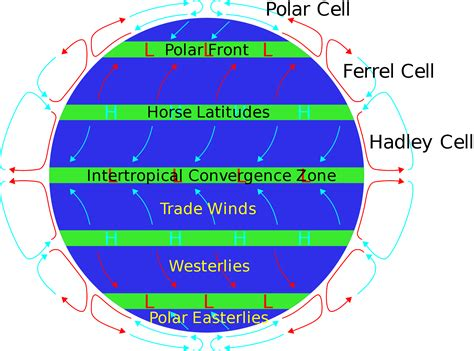 global pattern meaning easterlies definition what is