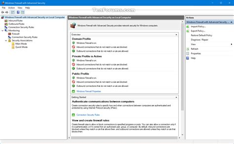 windows 10 firewall tutorial backup and restore windows defender firewall settings in