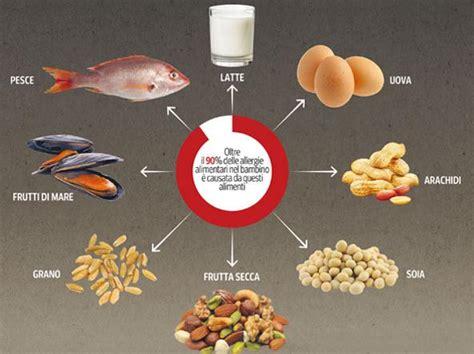 alimenti che provocano allergie allergie alimentari quali sono cosa provocano si