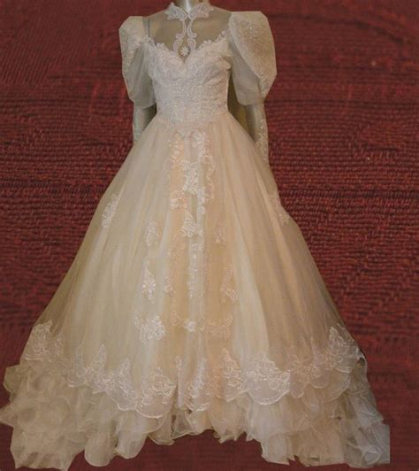 Jcpenney Wedding Dresses by Vintage Jcpenney By Alfred Angelo White Wedding Dress