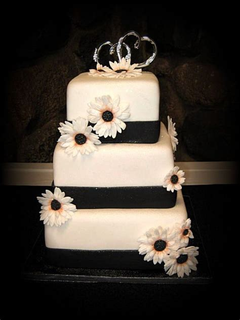 Wedding Cake Black And White Simple by 23 Black And White Wedding Cakes Decoration Wedding