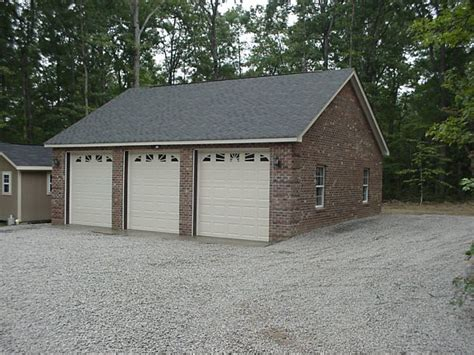 brick garages designs graf custom construction