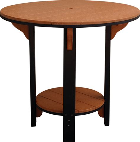 Patio Pub Table Recycled Plastic Poly Outdoor Pub Table From Dutchcrafters Amish