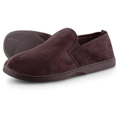 dockers mens slippers s dockers 174 microsuede loafer slippers 234779