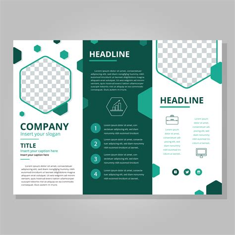 3 folded brochure template tri fold brochure free vector 7838 free downloads