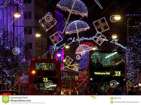 weihnachten in london redaktionelles bild bild 28875155