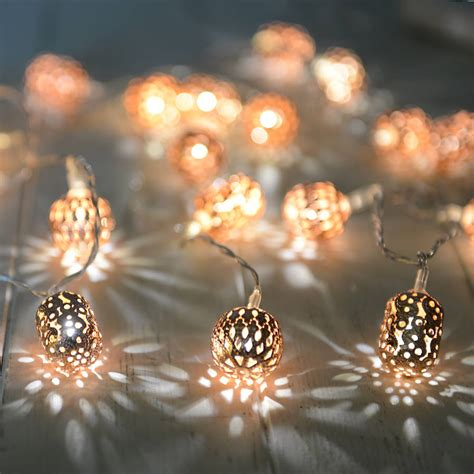 fariy lights copper lights by home notonthehighstreet