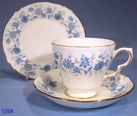 vintage china colclough braganza vintage bone china tea trio sold