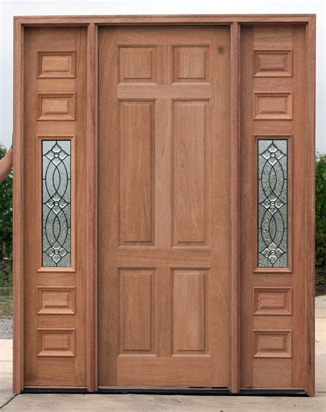 Inexpensive Front Doors Cheap Exterior Doors With Sidelights