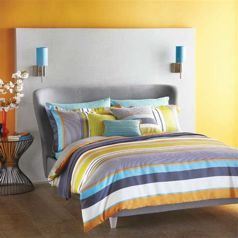 bed linen bali harlequin bali stripe duvet cover multi homeware