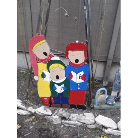 christmas carolers holiday yard art decorations id 6867031