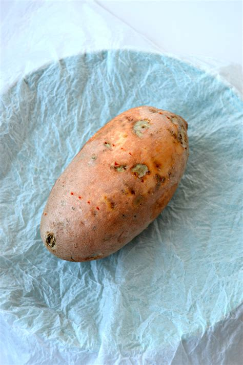 how to make a baked sweet potato in the microwave clean eating veggie girl