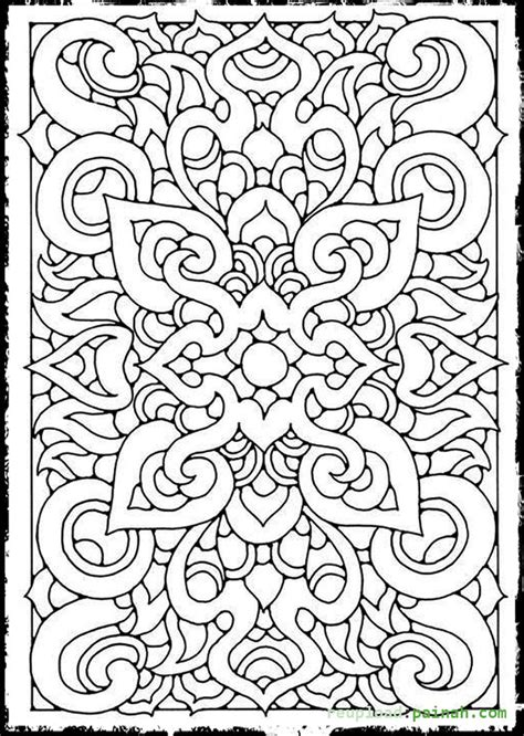 Coloring Page Designs by Coloring Pages With Cool Designs For Printable