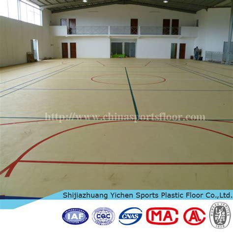 Basketball Court Plastic Flooring by Indoor Futsal Basketball Court Sport Pvc Flooring Carpet