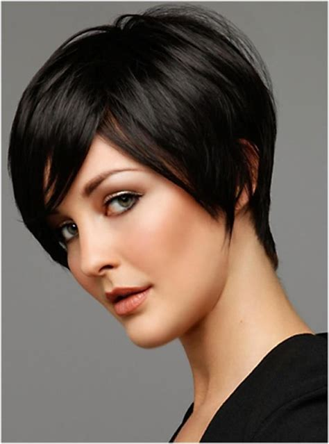 i like this cut with short bangs and longer lawyers right 29 cool short hairstyles for women 2015 pretty designs