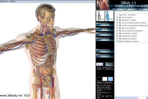 best anatomy software 3dbody is a 3d interactive digital anatomy software