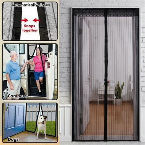 magic curtain new magic curtain door mesh magnetic fastening hands free
