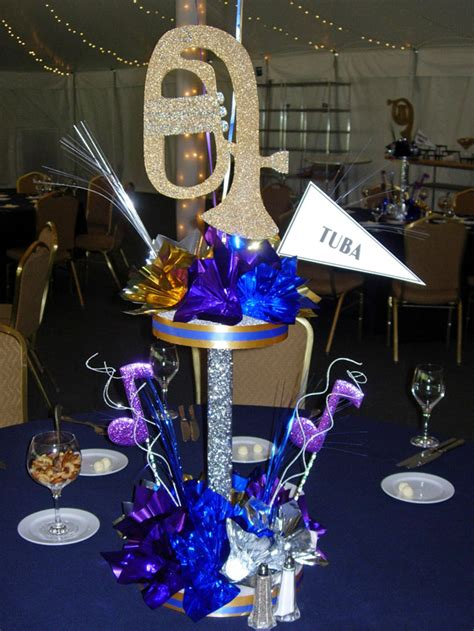 musical themed decorations custom theme centerpiece decorations for and
