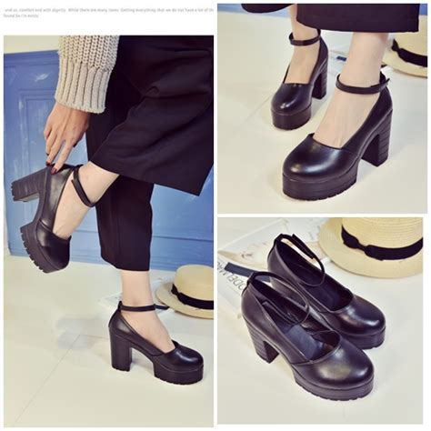 Sepatu Wanita Sepatu Wedges Sepatu Heels 6 jual shh8829 black sepatu heels 6 5cm grosirimpor