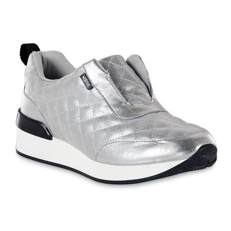 walrus slippers walrus womens slipon sneaker size 95 silver