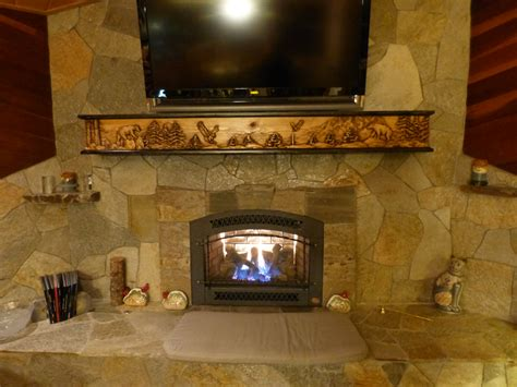 rock fireplace rock fireplace wildlife mantel fireplace mantels shelves