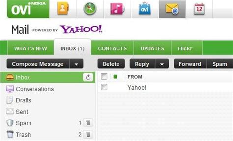 nokia ovi mail migrates to ovi mail now officially powered by yahoo migration