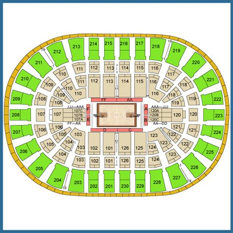 detroit pistons seating plan detroit pistons vs wizards tickets april 10 2017 at 8 00