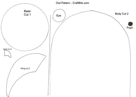owl templates for sewing best photos of owl sewing pattern template free