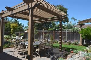 Backyard Landscape Structures Backyard Pergola Shade Structures Traditional Patio