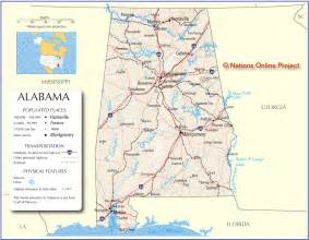 alabama map free large images