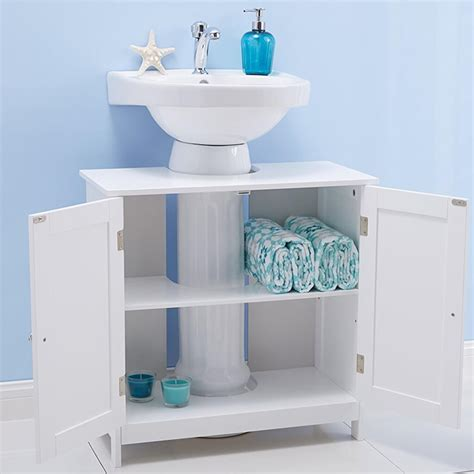 28 polar undersink cabinet bathroom furniture shoe storage unit white under sink cabinet