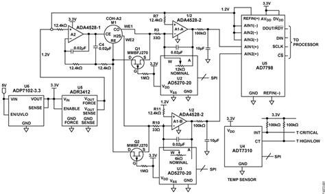 carbon monoxide detector schematic smoke detector