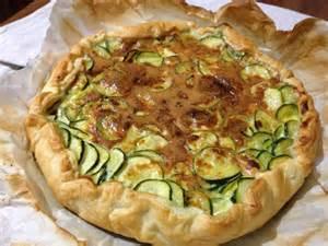 tarte sal 233 e aux courgettes et oeufs recette facile avec