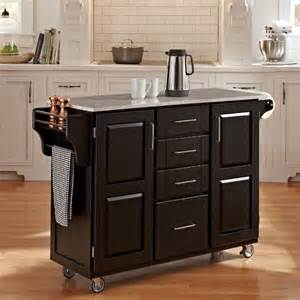 marble top kitchen island cart black finish with marble top create a cart contemporary kitchen islands and kitchen carts