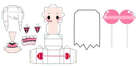 Kawaii Papercraft - vocaloid kawaii pinku uta papercraft by cam0001 on deviantart