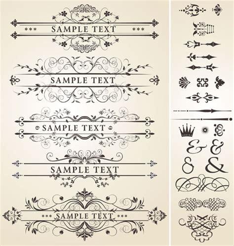 royal design elements vector vintage royal ornaments design elements vector 04 vector