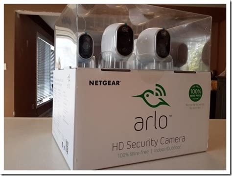 netgear arlo pro review a connected security camera with
