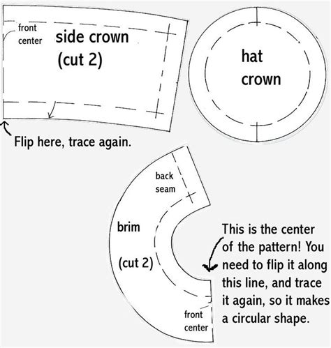 top hat template for top hat template pattern hats sd hat