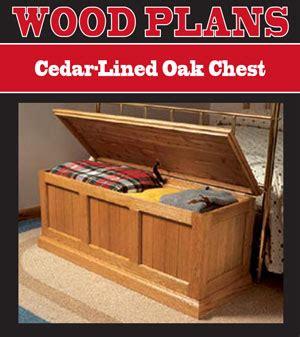 blankethope chest plans