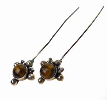 headpins for jewelry tigereye headpins sterling silver and tiger s eye jewelry