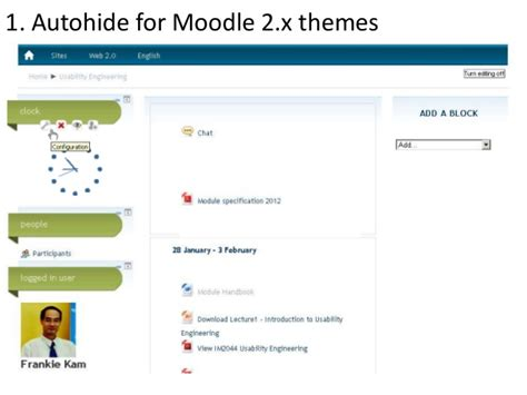 moodle themes more making moodle more social and fun