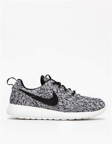 nike roche running shoes nike roshe run gpx premium in gray for lyst