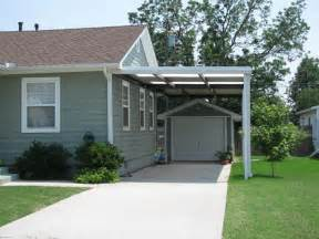 attached carport plans image gallery mobile home attached carports