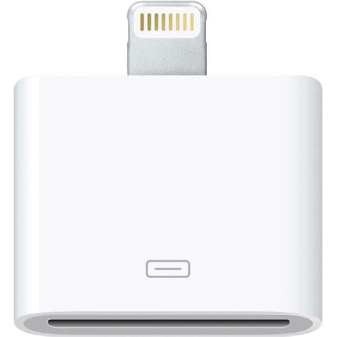 Apple Lightning To 30 Pin Adapter Original Diskon apple lightning to 30 pin adapter md823am a b h photo