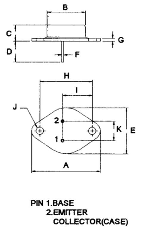transistor 2n3055 pinout 2n3055 datenblatt pdf 15a 60v power transistor mospec