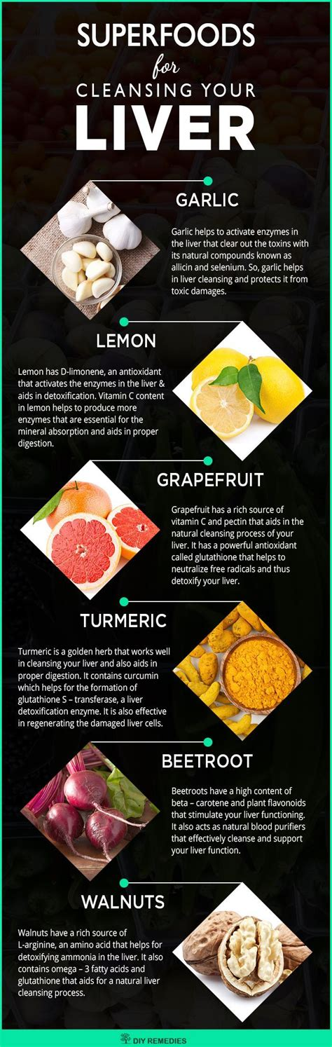 Liver Detox Foods List by Best Liver Cleansing Superfoods Here Is The List That