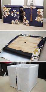 Cheap Diy Storage Ideas For Small Spaces Diy Custom Storage Ottomans Click Pic For 25 Diy Small