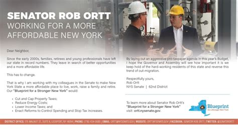 More New Are Working by Working For A More Affordable New York Ny State Senate